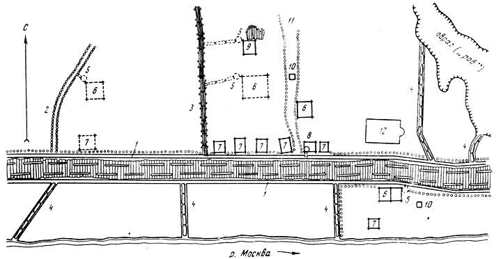 Схема участка дренажных