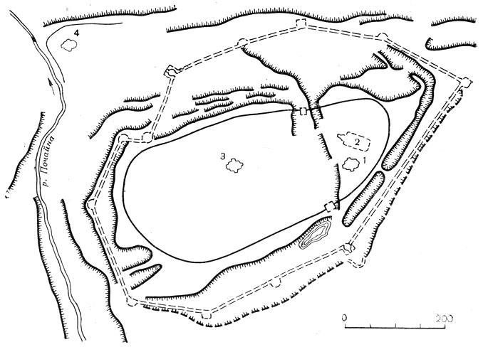 Нижний Новгород. Схема плана