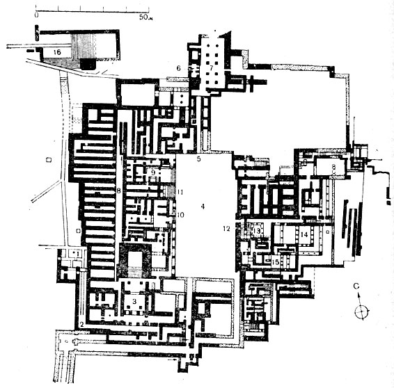 Новый дворец в Кноссе (XVII—XV