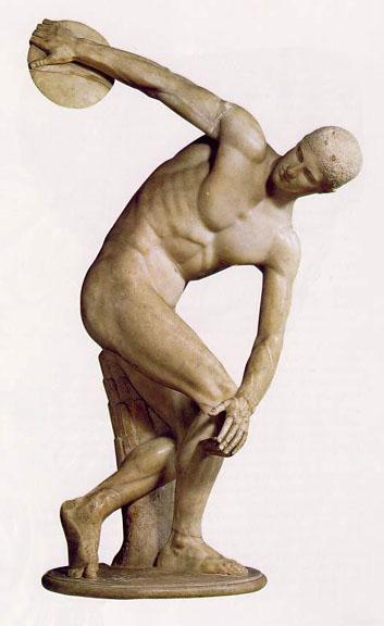 Воплощение калокагатии в древнегреческой скульптуре 5 века