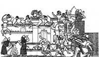 Осада крепости. Рельеф из дворца Ашшурбанапала. IX век до н.э.